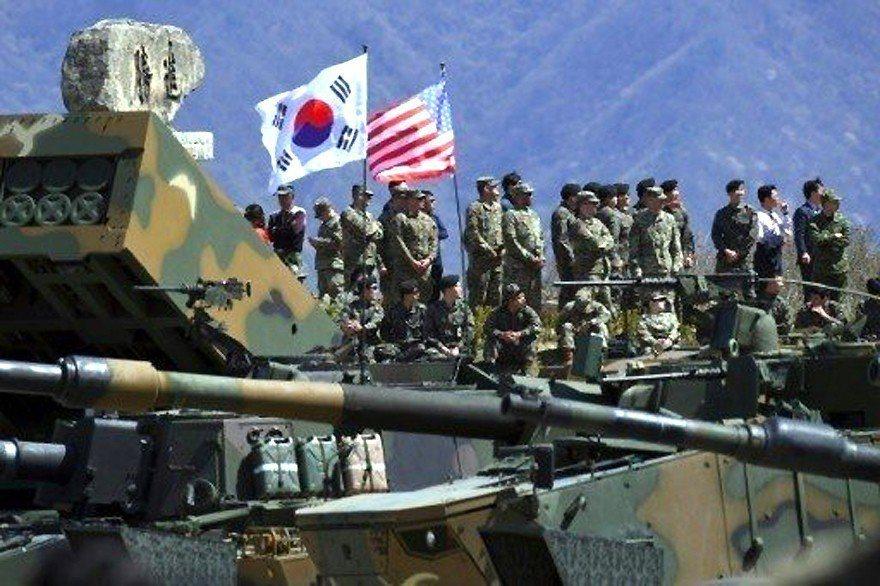 不打自招!川普:停止美韓軍演是我的想法 非北韓要求