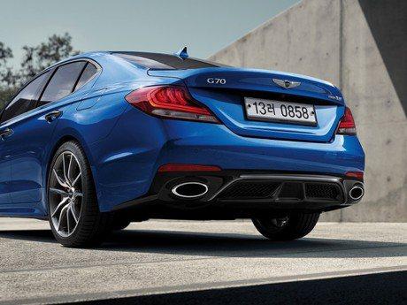 為超越BMW 3-Series而生!頂規Genesis G70百公里加速5秒內搞定