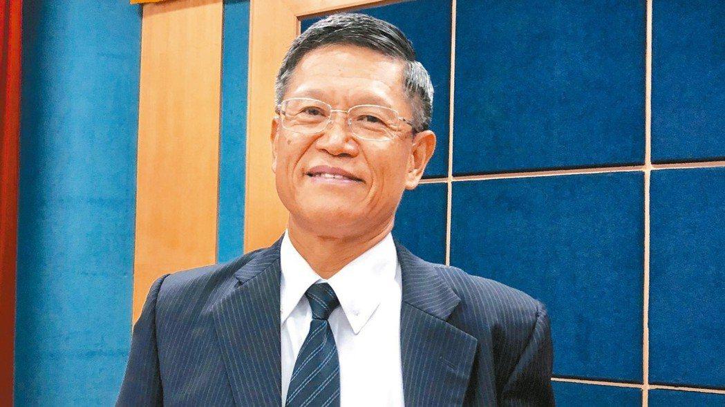 正新橡膠董事長羅才仁。 記者宋健生/攝影