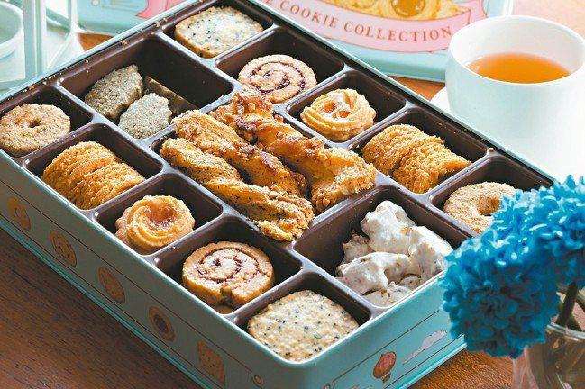 法朋二店台灣鐵盒餅乾。 圖/陳立凱、林俊良攝影、各業者提供