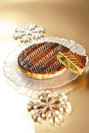 珠寶盒國王餅除了原味,每年還有限定口味,去年推出綠茶口味。 圖/陳立凱、林俊良攝...