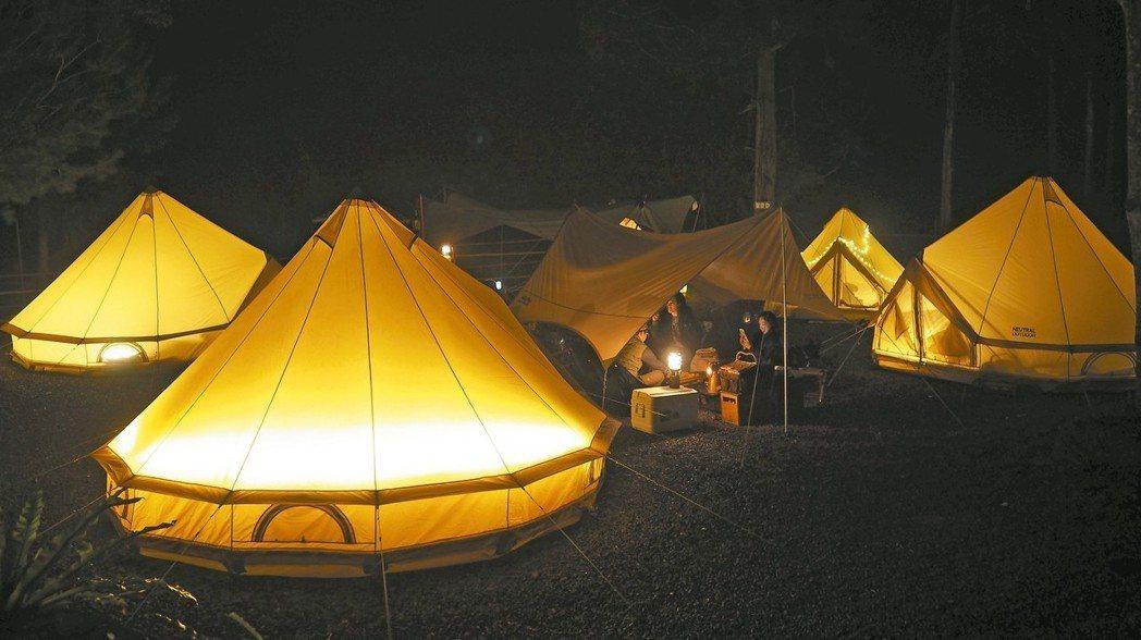 帳篷就是戶外的家。 圖/Urban Basecamp提供