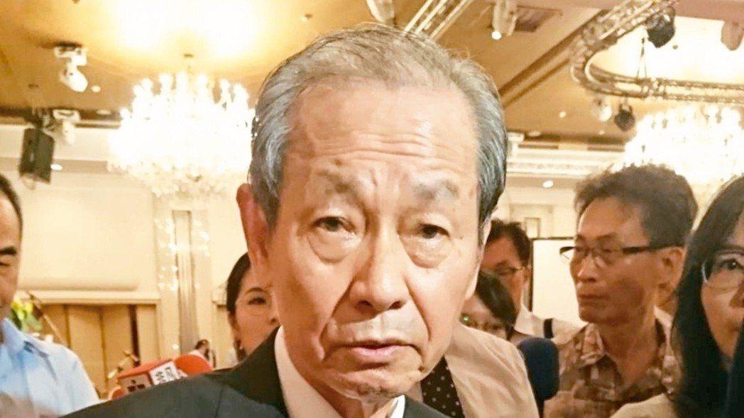 台塑化董事長陳寳郎認為油價將走跌。 黃淑惠/攝影