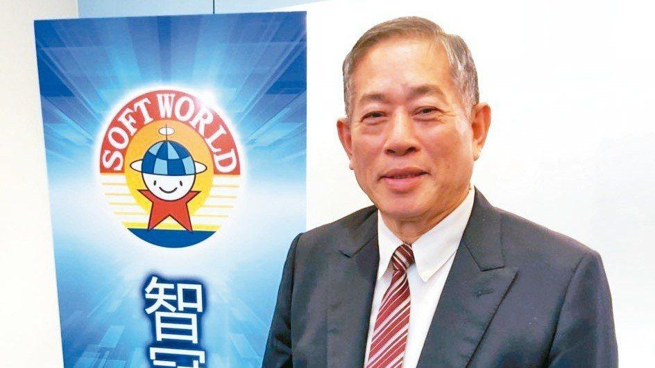 智冠董事長王俊博。 報系資料照
