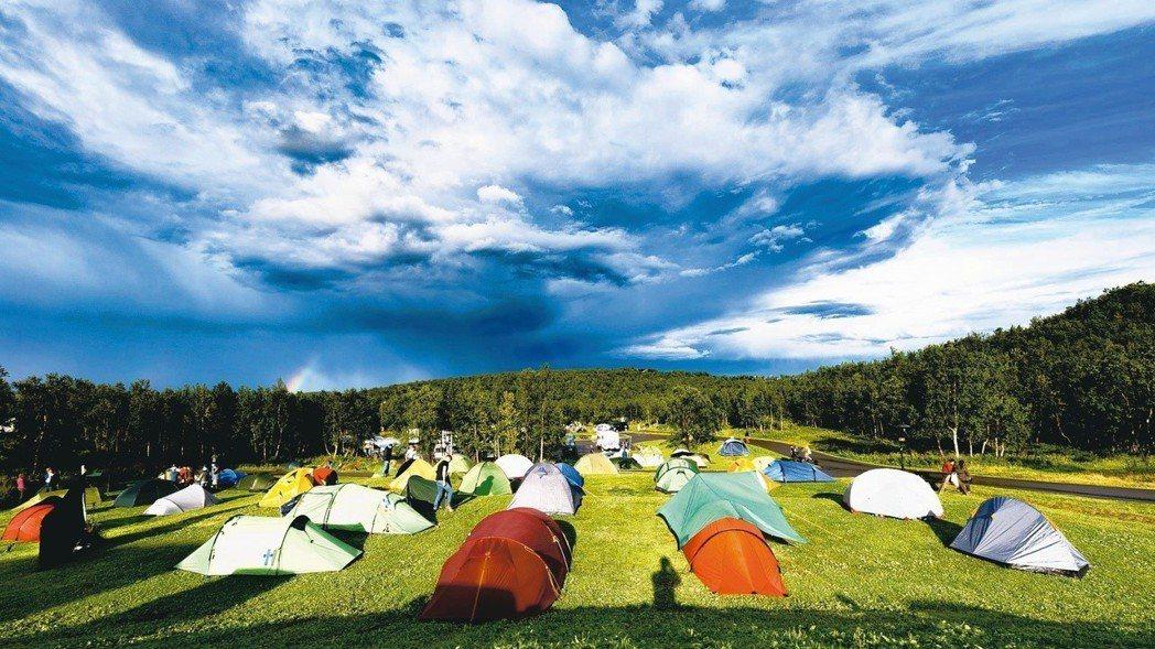 出發前住的營地。 圖/Urban Basecamp提供