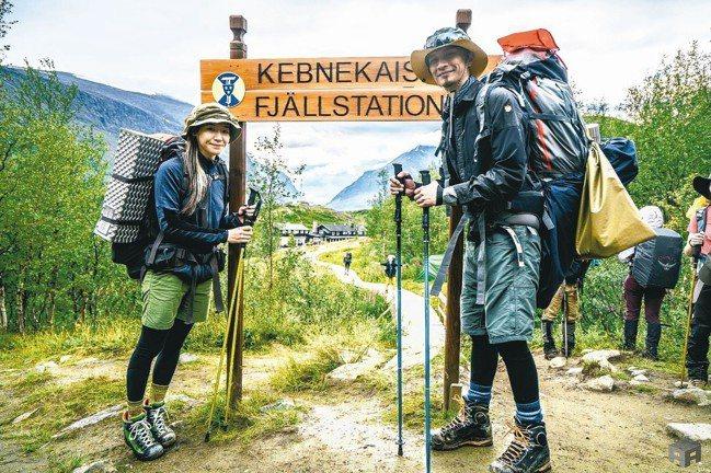 第一站瑞典最高峰Kebnekaise