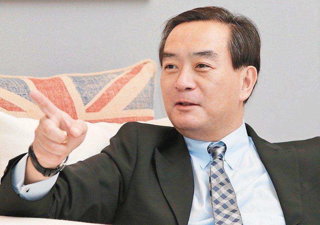 裕隆集團董事長嚴凱泰。聯合報系資料照