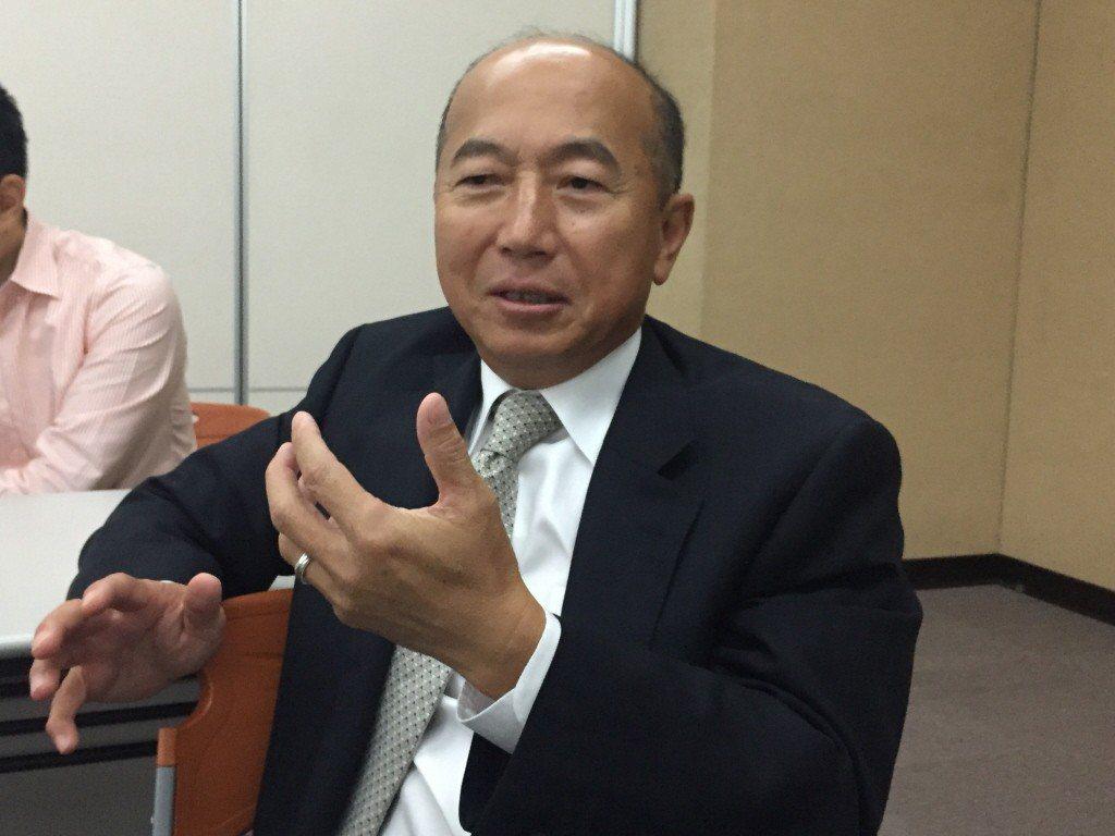圖為安成藥董事長陳志明。聯合報系資料照/記者黃文奇攝影