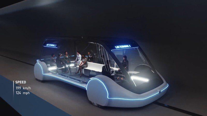 馬斯克旗下柏林公司所設計的「滑板式」隧道車,將成為芝加哥市區與歐海爾機場的未來交...