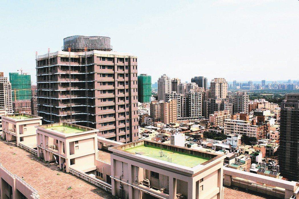 新竹至目前為止從未明顯回檔,可說是房市政策無感區。 圖/聯合報系資料照片