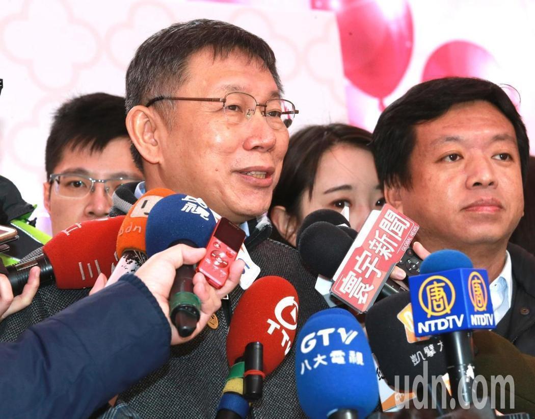 台北市長柯文哲。圖/報系資料照 楊正海
