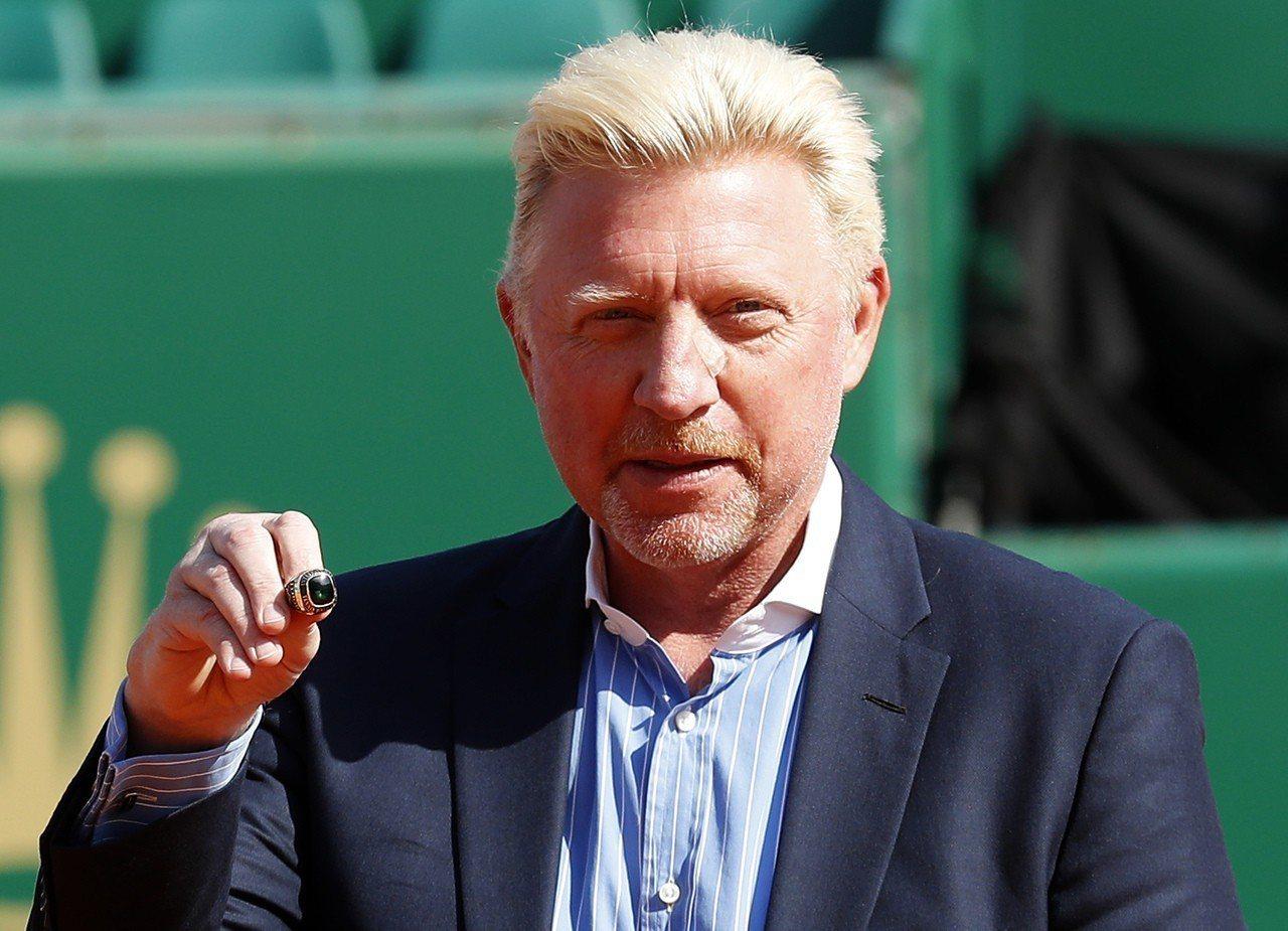 3屆溫布頓網賽冠軍貝克(Boris Becker)。 歐新社