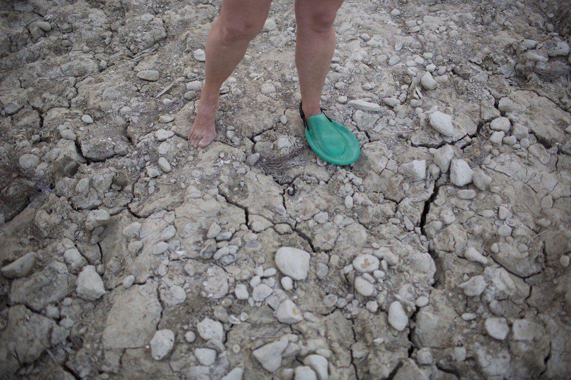 以色列的加利利海,面臨缺水的消失危機? 圖/美聯社