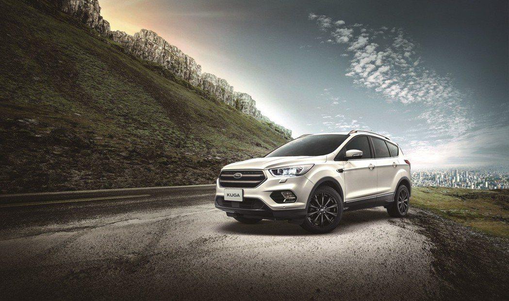 Ford正式推出「Ford Kuga勁黑版」,以完整搭載ACC主動定速巡航系統及...