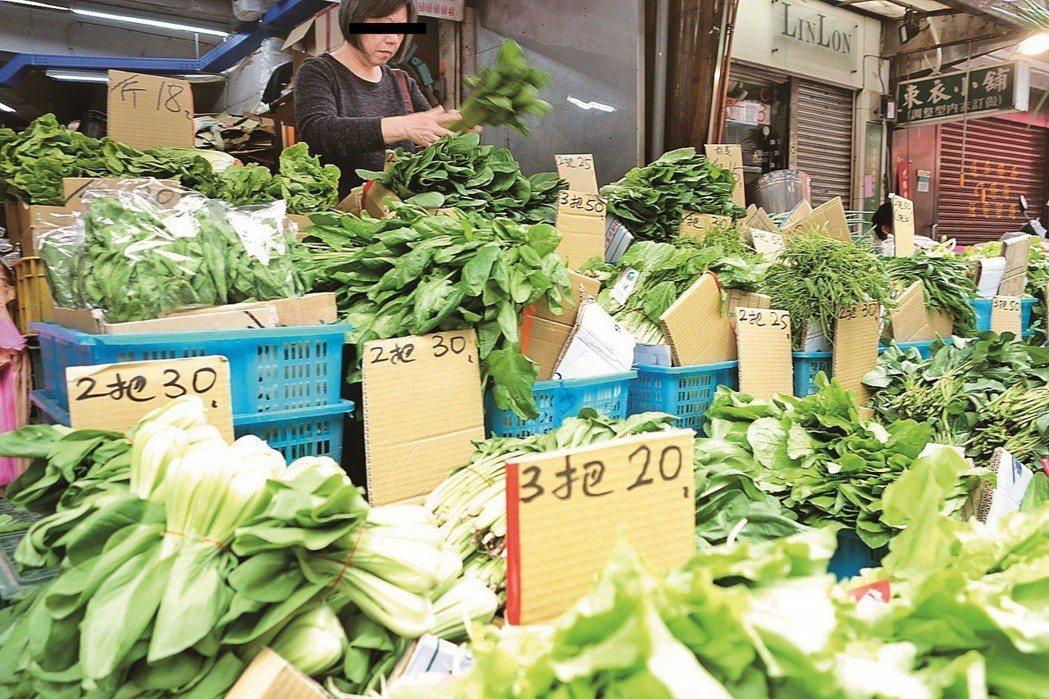 網友建議可以到菜市場購買食材 圖片來源/聯合報系