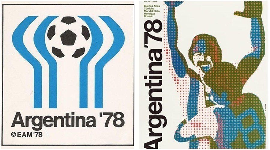 1978年阿根廷世界盃的官方圖騰,據說設計概念,是政變前參照裴隆總統的招牌手勢而...