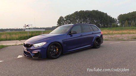 (影音) 等不到BMW M3旅行車 乾脆自己改裝一台!