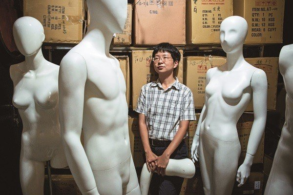 對於性別認同,謝海盟並不想侷限在現有框架。(攝影/王漢順)
