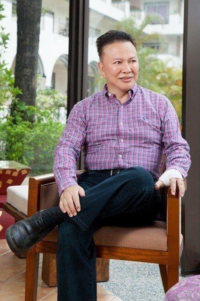 日暉國際渡假村 鄭越才董事長。