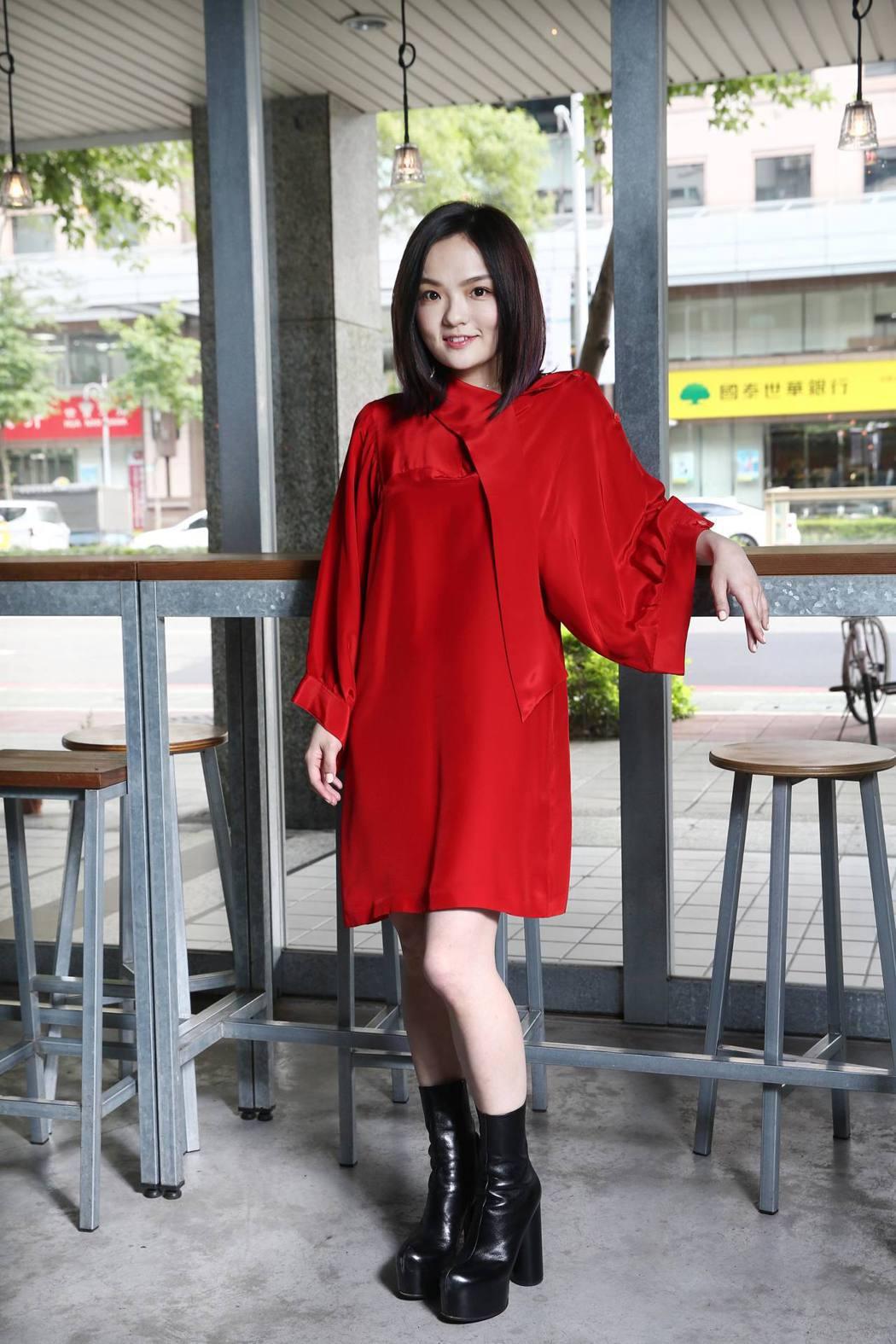 徐佳瑩入圍本屆金曲女歌后。記者蘇健忠/攝影