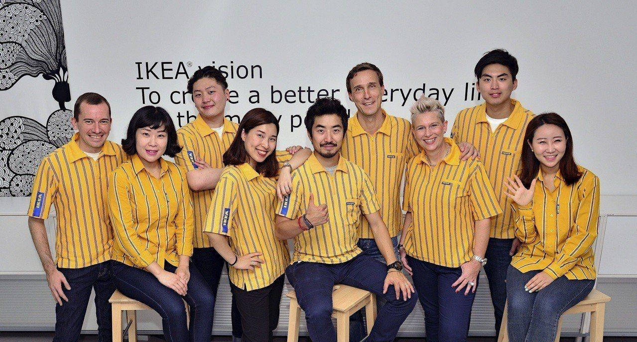 瑞典居家通路品牌IKEA明(16)日將展開一連五天的大台北地區徵才活動,為IKE...