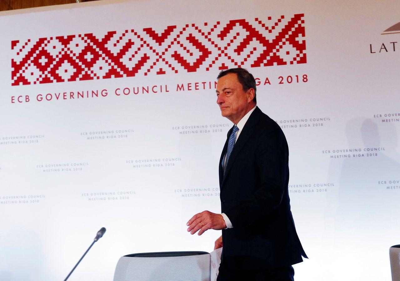 德拉基帶領ECB踏上不能更溫和的利率正常化之路,一條在他任內走不到的路。路透