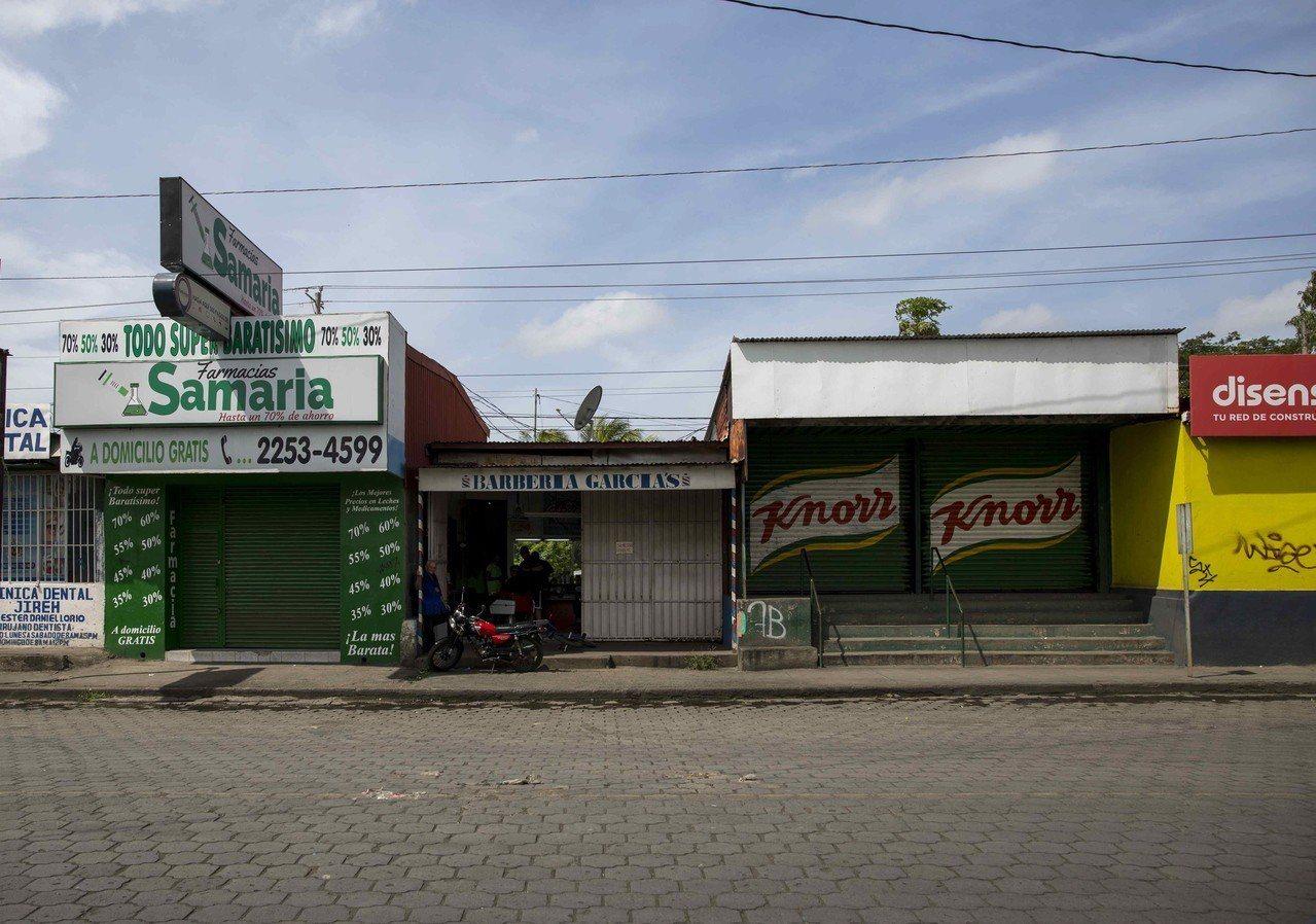 尼加拉瓜14日全國大罷工,數萬間店家和企業歇業,藉此抗議政府鎮壓異議份子並要求尼...