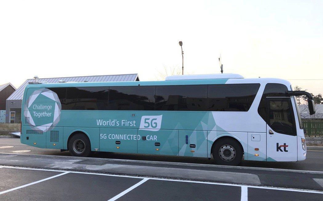 南韓已在今年2月冬奧期間測試5G技術。 美聯社