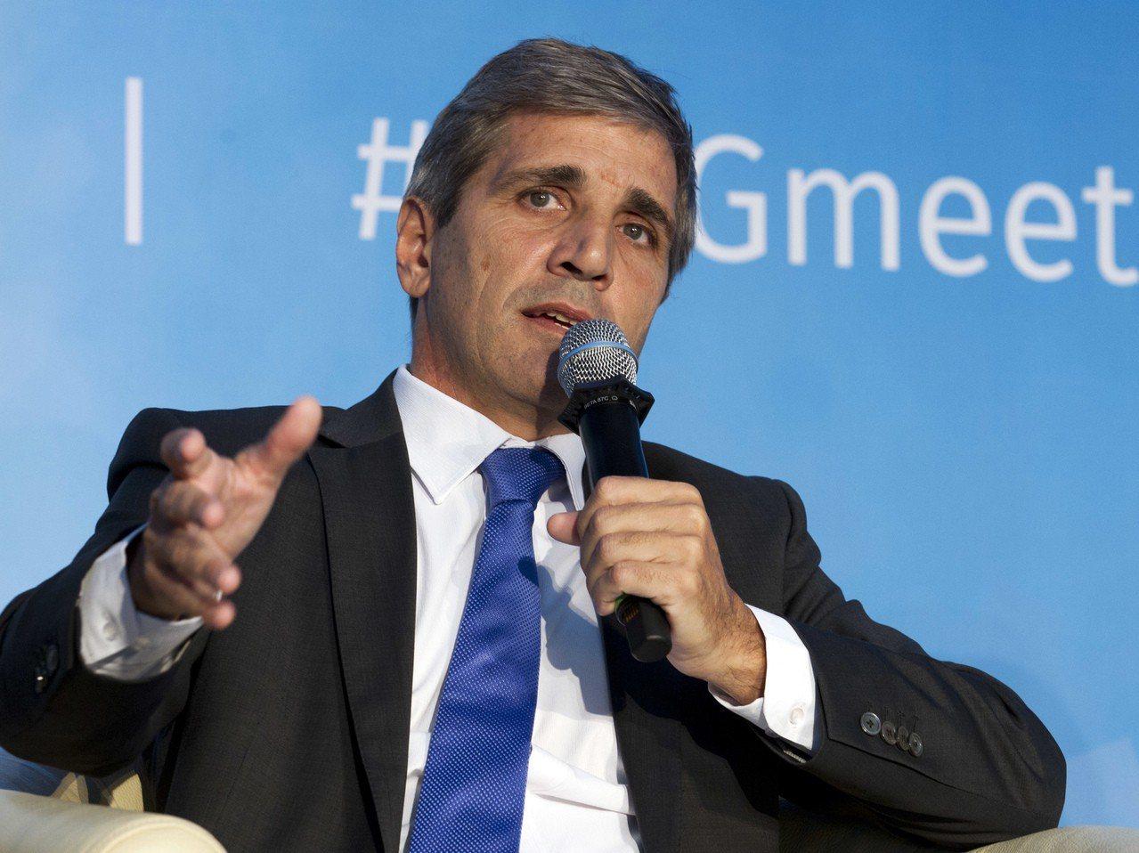 卡普托接任阿根廷央行總裁,可能有助挽回投資人信心。 美聯社