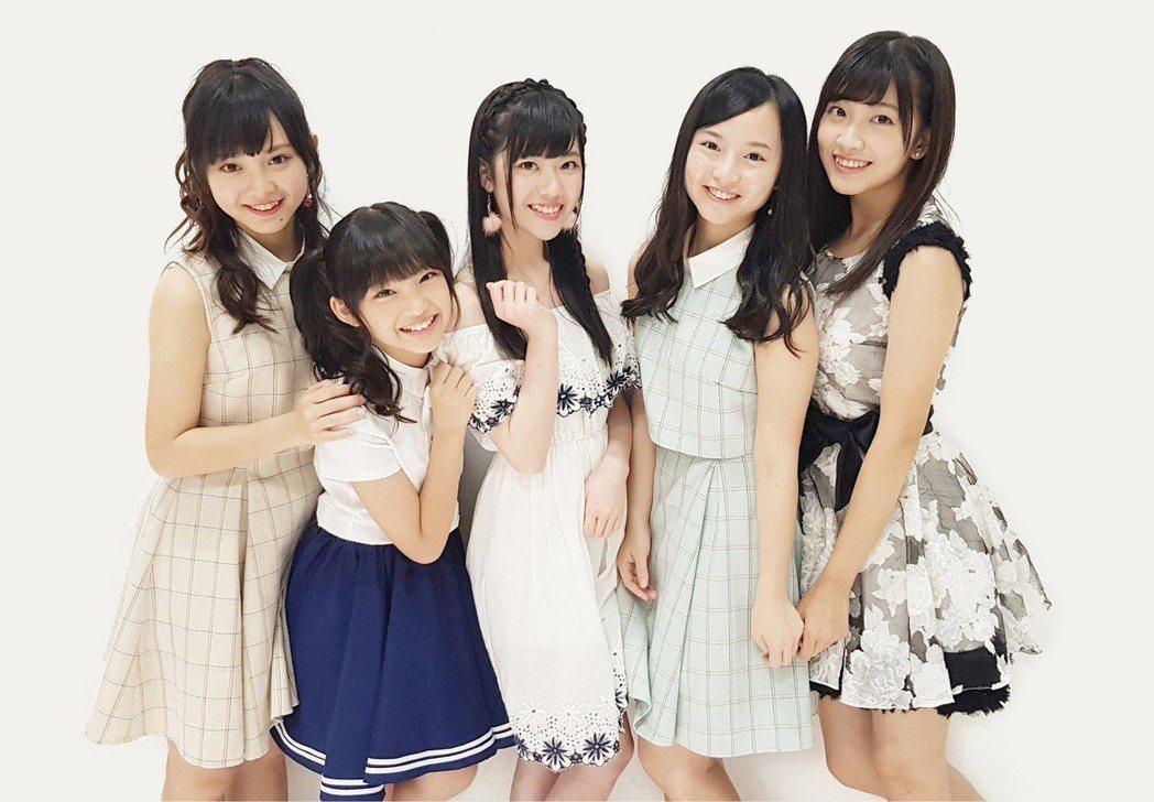 TPE48派出五名成員赴日參加總選。圖/摘自臉書