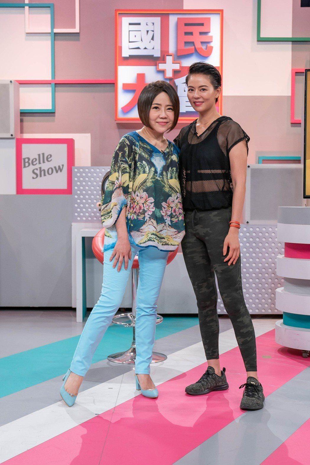 于美人和劉香慈都瘦下來了。圖/TVBS提供
