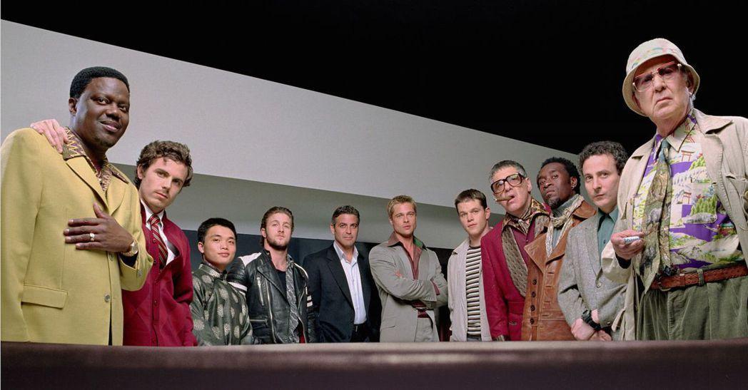 「瞞天過海」系列當年一口氣集結好萊塢許多大牌明星共同演出。圖/華納兄弟影業提供