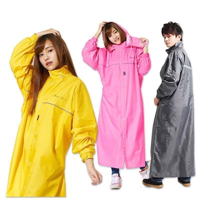 超輕量極簡前開式雨衣,4折特價514元。圖/生活市集提供