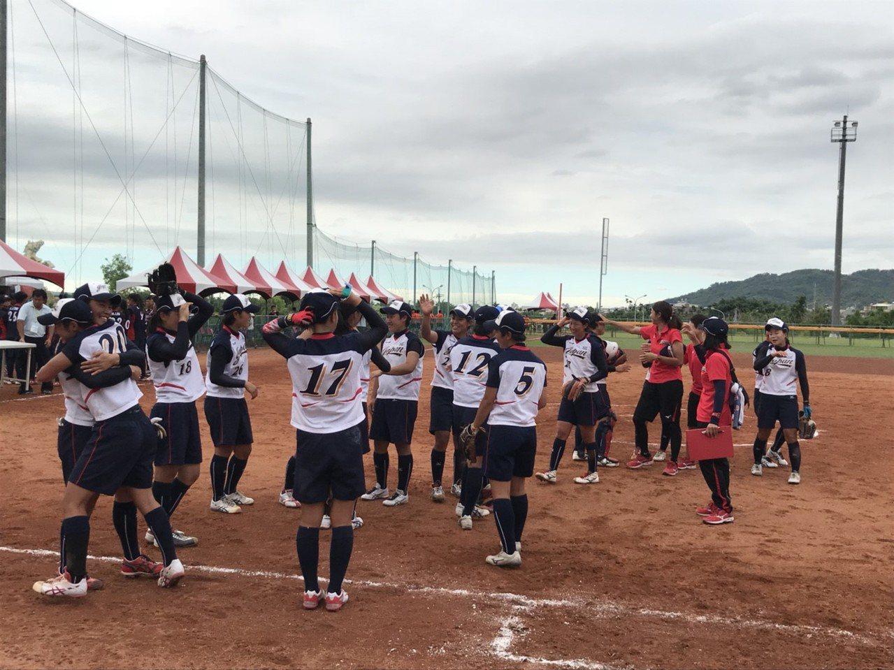 日本隊奪東亞盃冠軍。圖/中華壘球協會提供
