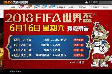 世足賽收視品質網友罵 中華電信回應調校中