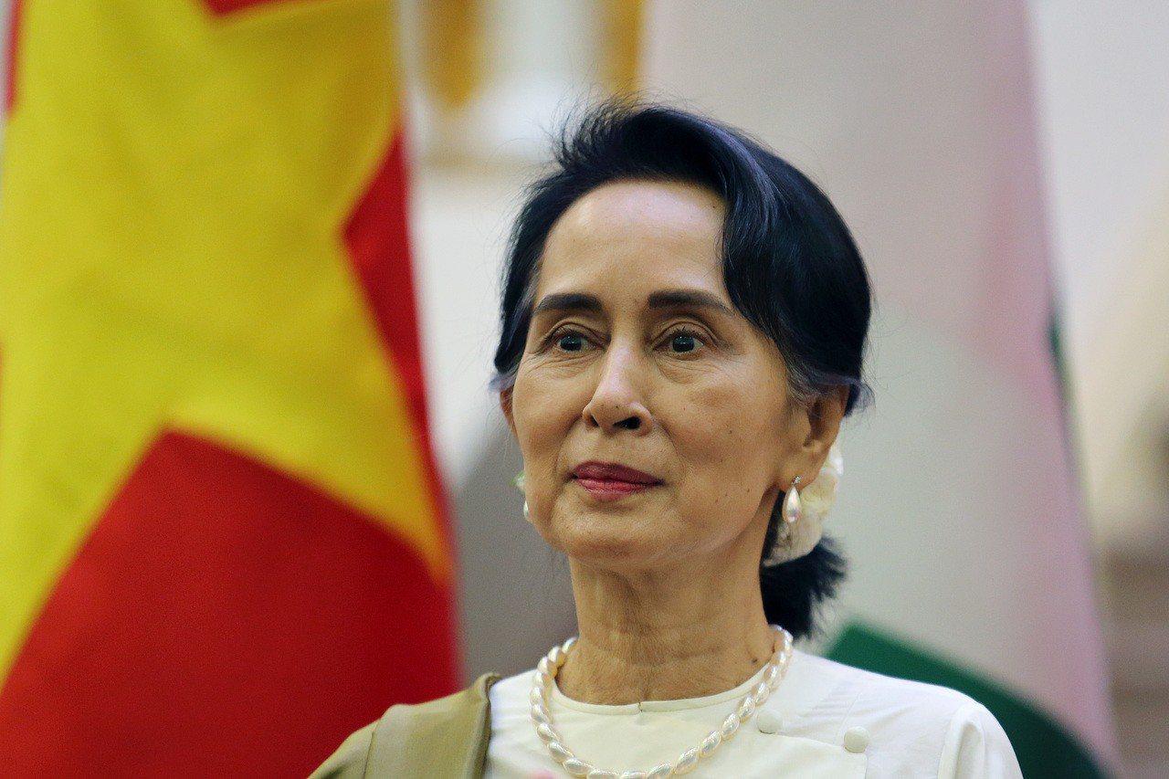 緬甸實質領袖翁山蘇姬。歐新社