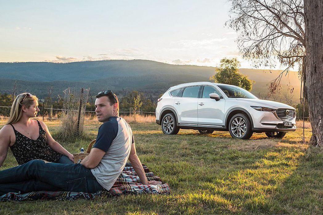 澳洲Mazda CX-8將有三種車型,分別是入門Sport FWD、中階Sport AWD以及頂級Asaki AWD。 圖/Mazda提供