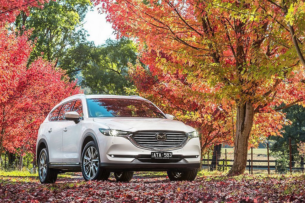 澳洲Mazda公布CX-8新車相關資訊並排定在7月正式發表。 圖/Mazda提供