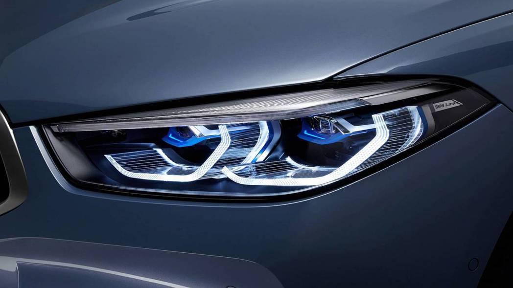 新世代BMW 8 Series Coupe(G15)也提供雷射頭燈選配。 摘自BMW