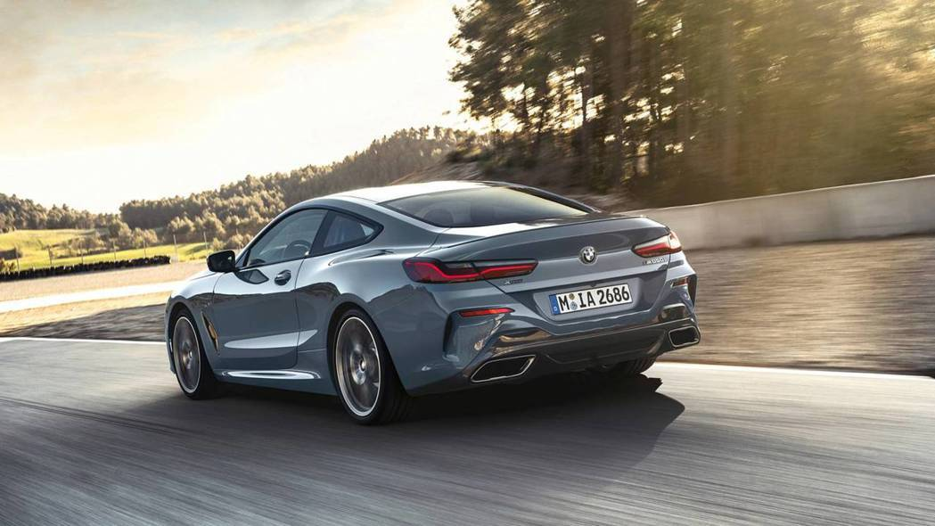 新世代BMW 8 Series Coupe(G15)的身形十分俊美。 摘自BMW