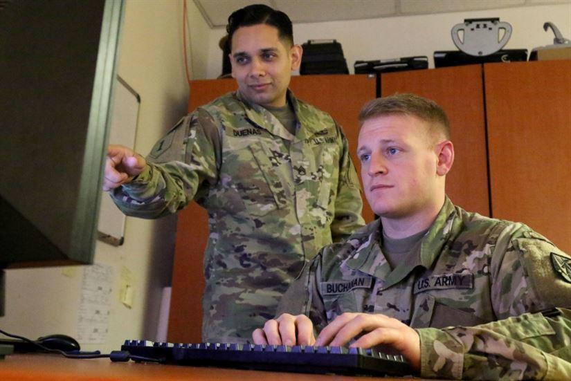 關鍵決斷演習以電腦模擬演練為主。圖取自美國國防部官網