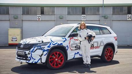 (賽車片)Skoda Kodiaq RS正式曝光 知名女賽車手帶你體驗