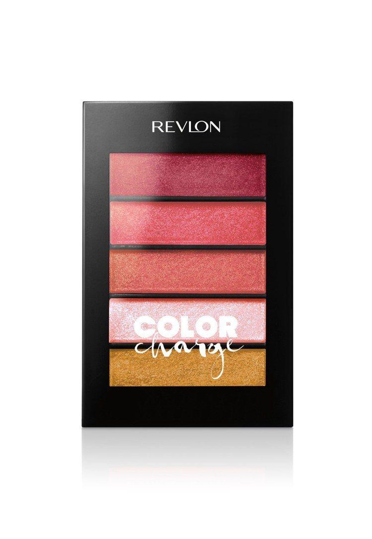 REVLON露華濃凝亮絕色唇彩粉盤,售價380元,共兩色。圖/露華濃提供