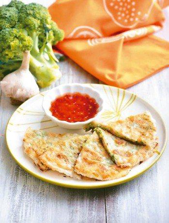 花椰菜月亮蝦餅