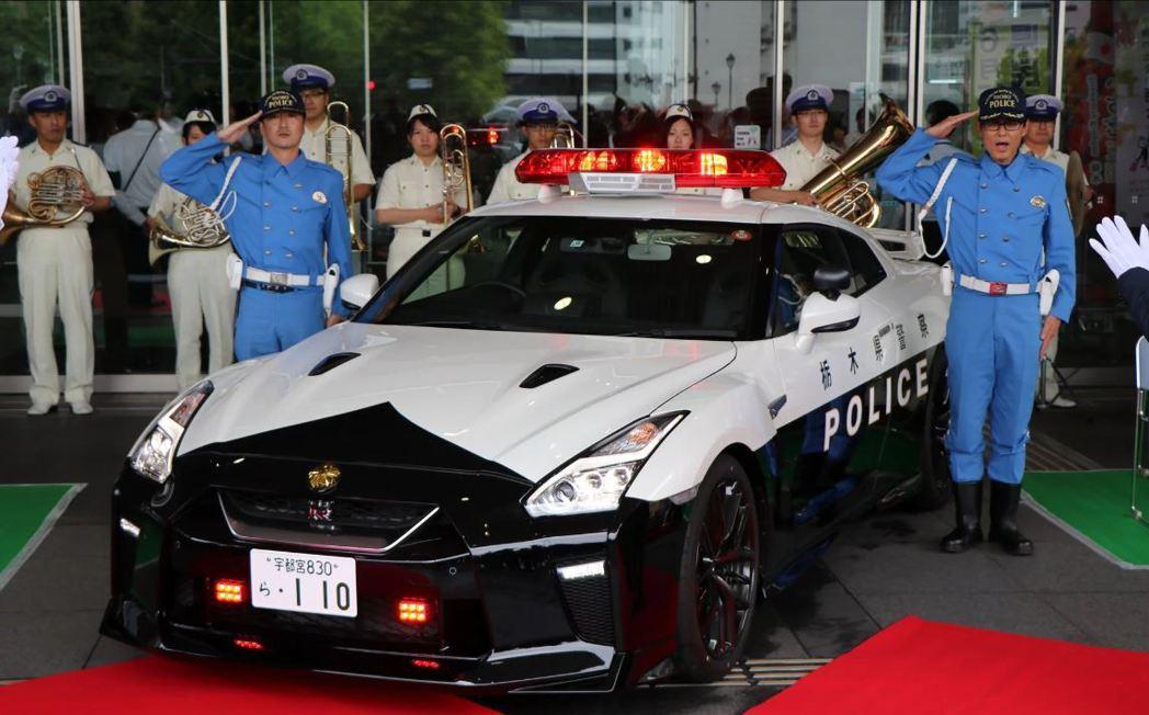 Nissan GT-R 警車正式服役。 摘自carscoops