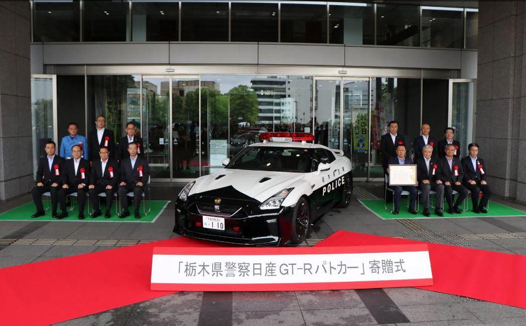 6/15這天特別舉辦了贈車儀式。 摘自carscoops