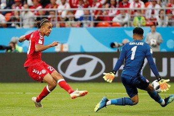 秘魯罰丟12碼球 丹麥搶下關鍵勝