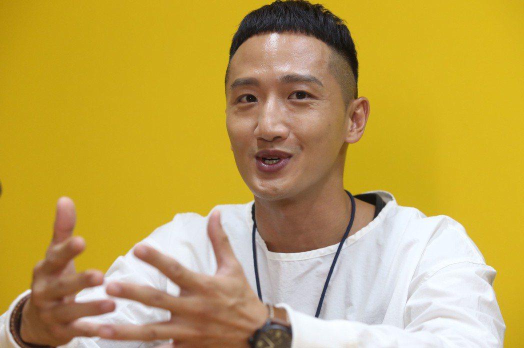 高英軒暢談表演理念。記者林俊良/攝影