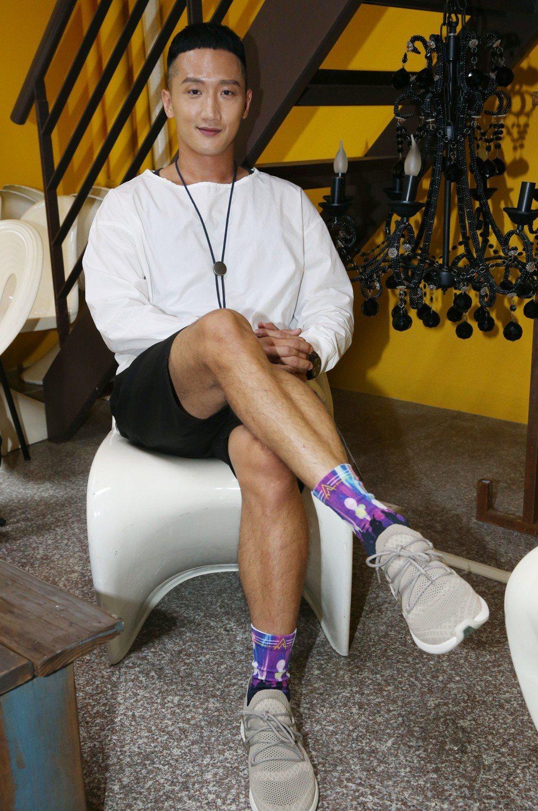 高英軒演過李安導演作品,印象最深竟是電影上映後「沒工作」。記者林俊良/攝影