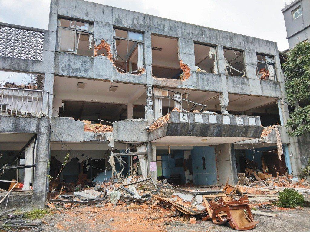 礁溪天主堂被列為暫定古蹟,裡頭的「文聲復健院」卻在展延暫定古蹟身分前前遭拆除、外...